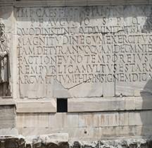 Rome Rione Celio Arc de Triomphe de Constantin (Details)