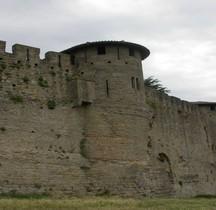 Aude Carcassone Cité Tours Wisigothiques
