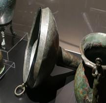 Vie Quotidienne Ustensiles Infundibulum Entonnoir Bronze Pompéï Naples MAN Nimes 2019