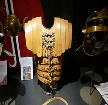 Cuirasse Type Lorica Segmentata Cuir Gladiator Museum