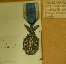 Mexique 1823 Ordre de ND De La Guadalupe Salon