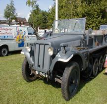 Sd.Kfz 10 leichter Zugkraftwagen  mit 1t