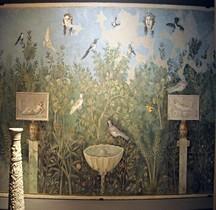 Pompei Regio VI Insula 7 Maison du Bracelet d'argent Fresques  Jardin