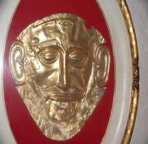Mycènes Masque Agamemnon Copie
