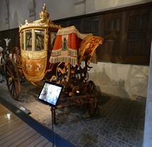 1808 Berline dite du Duc de Chambord Versailles Grandes Ecuries Musée des Carrosses