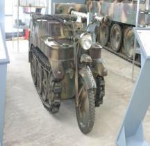 Kleines Kettenkraftrad HK 101 SdKfz 2 Munster