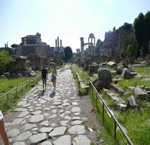 Rome Rione Campitelli Forum Romain Via Sacra