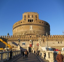 Rome Rione Borgo Mausolée Hadrien Castel San Angelo