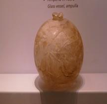 Rome Verrerie  Ampulla  Globe Verre Rome Museo nazionale