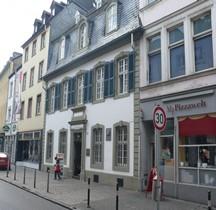 Rheinland-Plaz Trèves Maison Natale de Karl Marx