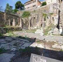 Rome Rione Campitelli Forum Romain Tabularium Edifice Cour Carrée