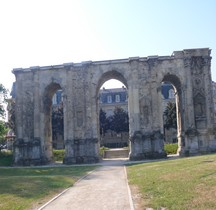 Marne Reims Porte de Mars Face Nord