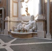 Statuaire Divinités fluviales  Rome Océan Marforio  Rome Museii Capitolini