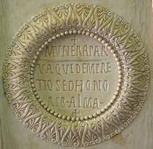 Moyen Age Byzance Ivoire Diptyque Consulaire Flavius Petrus Sabatius Justinianus Paris BnF