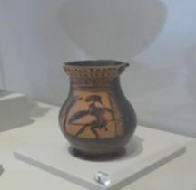 Etrurie Céramique Oplé Hoplite Comacchio