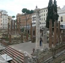 Rome Rione Parione Largo Torre Argentina