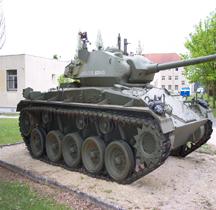 Char léger M 24 Chaffee Mourmelon