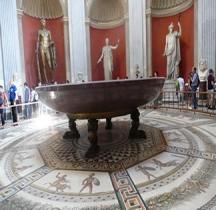 Mosaïque Rome Italie Otricoli Thermes Mosaïque Monde Marin Vatican Rotonda