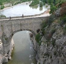Hérault Saint Jean de Fos Le pont du Diable