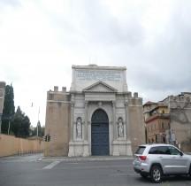 Rome Mura del URBS Rome Mura Aureliane Rione Castro Pretorio Porta Pia