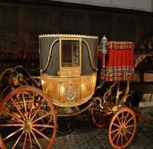 1810 Berline à 3 Glaces Améthyste Versailles Grandes Ecuries Musée des Carrosses