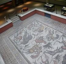Mosaïque Rome Syrie Apamée /Oronte Mosaique de la Chasse Bruxelles