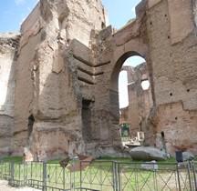 Rome Rione San Saba Thermes de Caracalla Calidarium Tepidarium Frigidarium