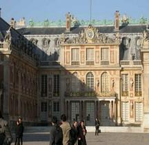 Yvelines Versailles Chateau Cour de Marbre