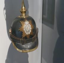 1895 Saxe Pickelhaube Infanterie Invalides