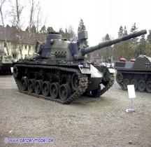 Char Moyen M 48 a2 GA  2 Patton  Munster