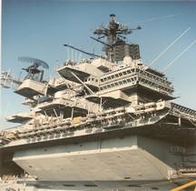 Porte avions USS Forrestal CVA-59 Marseille