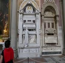 Florence Basilica di Santa Croce Intérieur Tombe de Rossini