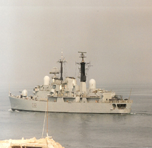 Destroyer HMS Liverpool D 92