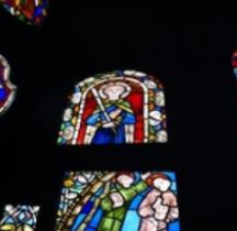 Vitrail Médiéval France Neuwiller-lès-Saverne  Abbatiale Saint-Pierre-et-Saint-Paul