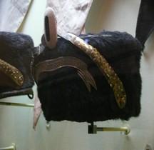 1880 Pelzmütze Magdeburgisches Husaren-Regiment Nr. 10 Bruxelles