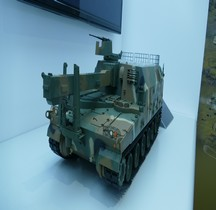 Corée du Sud Ravitailleur K10 ARV Ammunition Resupply Armoured Vehicle Maquette Eurosatory 2016