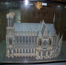 Marne Reims Cathedrale Notre Dame Maquette