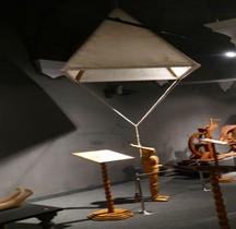 Leonardo da Vinci Parachute Florence Maquette