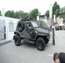 Pologne Team Concept LPV Wirus IV  Eurosatory 2018