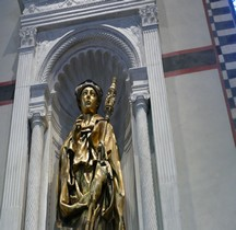 Statuaire Renaissance San Luigi di Tolosa Donatello Florence Basilica Santa Croce
