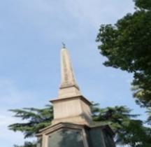 Rome Rione Esquilino Obelisque di Dogali