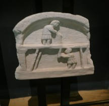 7 Rome Stèle Funéraire Stele Scieurs Replica Pont Gard Nancy