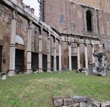 Rome Rione Campitelli Forum Romain Porticus deorum consentium