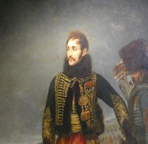 Peinture XIXe Paris Invalides Général Comte Lassalle Baron Gros 1808