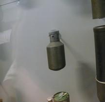 1°GM 1916 Grenade Viven Bessiere Porte Message