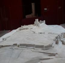 Aisne Coucy le Chateau Auffrique Ville Maquette