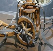 Leonardo da Vinci Char à faux Florence Maquette