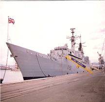 HMS Coventry F98 Marseille