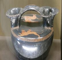 Grèce Céramique  Askos Pégase Chimère Louvre