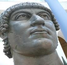 Rome rione Celio Colossus Neronis Tête